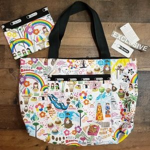 Lesportsac Hawaii Exclusive Tote Bag with mini bag